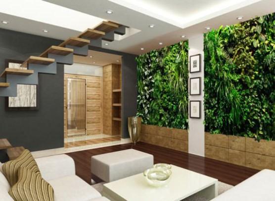 ý tưởng thiết kế vườn đứng cho không gian sống xanh