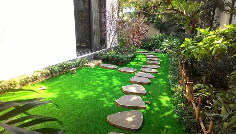 viền cỏ nhân tạo