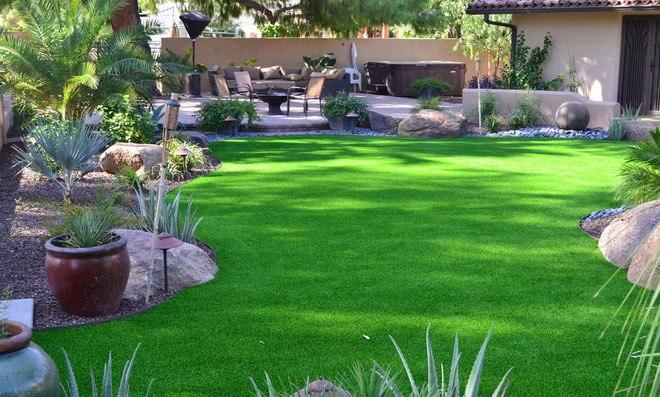 cỏ nhân tạo cho sân vườn