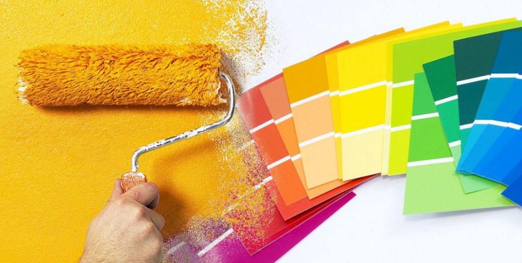 sơn phủ màu